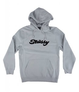 STUSSY CHENILLE APPLIQUE HOOD