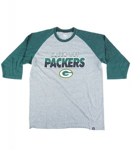 '47 BRAND GREEN BAY PACKERS CLUB RAGLAN TEE