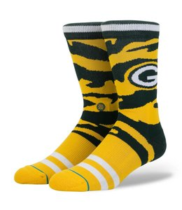 STANCE GREEN BAY PACKERS TIGERSTRIPE CAMO SOCKS