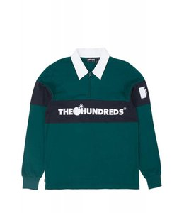 THE HUNDREDS ALPINE LONG SLEEVE POLO