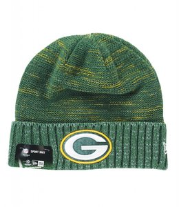 NEW ERA GREEN BAY PACKERS ON FIELD '17 KICKOFF BEANIE