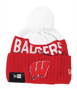 NEW ERA WISCONSIN BADGERS '15 SPORT BEANIE
