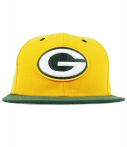 NEW ERA GREEN BAY PACKERS 2TONE TEAM FITTED