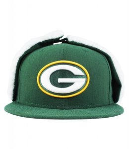 NEW ERA GREEN BAY PACKERS FLURRY DOGEAR FITTED