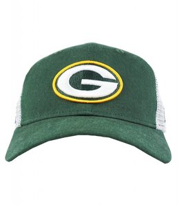 NEW ERA GREEN BAY PACKERS DUEL TRUCKER SNAPBACK