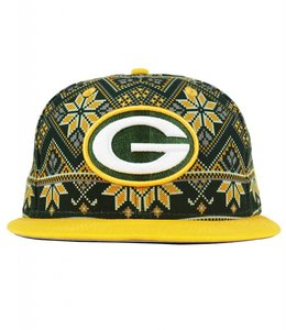 NEW ERA GREEN BAY PACKERS PRINT SWEATER SNAPBACK