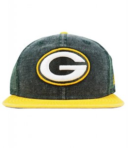 NEW ERA GREEN BAY PACKERS RUGGED TRUCKER SNAPBACK
