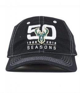 BUCKS 50TH ANNIVERSARY HAT