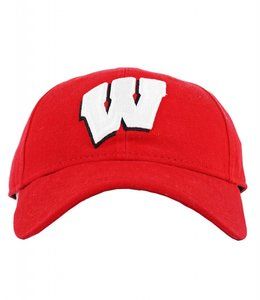 NEW ERA WISCONSIN BADGERS CLASSIC STOCK STRAPBACK