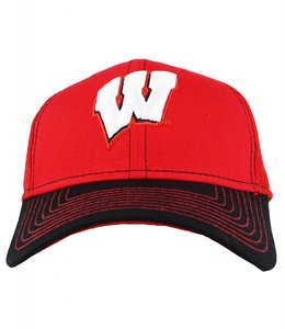 NEW ERA WISCONSIN BADGERS TEAM CLASSIC HAT