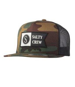 SALTY CREW ALPHA TRUCKER HAT