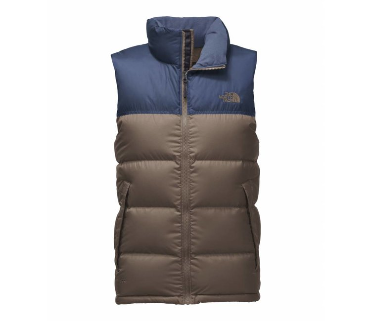 ... low cost the north face novelty nuptse vest falcon brown shady blue  nf0a33qdtdh moda3 846be 7b37e d34d311e5