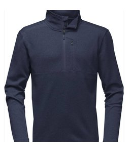 THE NORTH FACE BI-STRETCH TWILL 1/4 ZIP PULLOVER