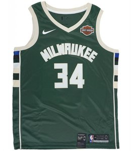 NIKE MILWAUKEE BUCKS GIANNIS ANTETOKOUNMPO ICON SWINGMAN JERSEY