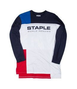 STAPLE EXPEDITION BLOCK LONG SLEEVE TEE