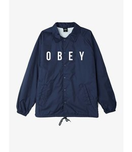 OBEY ANYWAY COACHES JACKET
