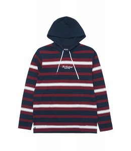 THE HUNDREDS ELMONT LONG SLEEVE HOODED SHIRT