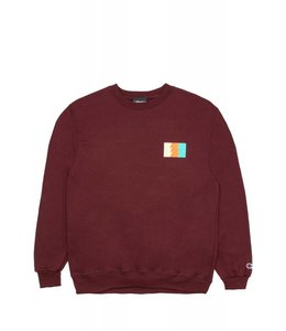 THE HUNDREDS WILDFIRE 6 CREWNECK SWEATSHIRT