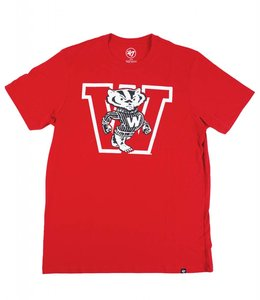 '47 BRAND WISCONSIN BADGERS BUCKY CLUB TEE