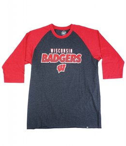 '47 BRAND BADGERS CLUB RAGLAN TEE