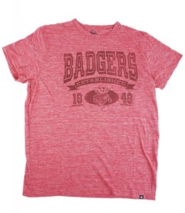 '47 BRAND WISCONSIN BADGERS TRI-STATE TEE