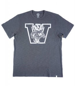 '47 BRAND WISCONSIN BADGERS W SCRUM TEE