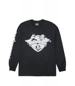 THE HUNDREDS ANIMANIACS SHIELD LONG SLEEVE TEE