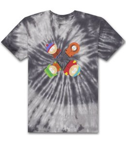 HUF X SOUTH PARK TRIPPY TIE-DYE TEE