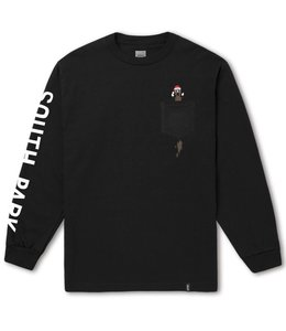 HUF X SOUTH PARK MR. HANKEY LONG SLEEVE POCKET TEE