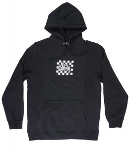 STUSSY CHECKERS PULLOVER HOODIE