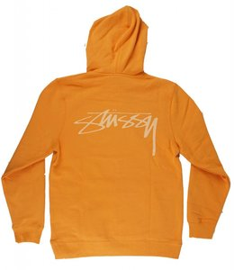 STUSSY SMOOTH STOCK PULLOVER HOODIE