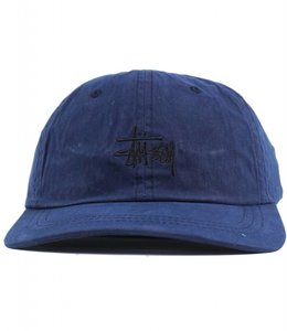 STUSSY WAX COTTON LOW PRO HAT