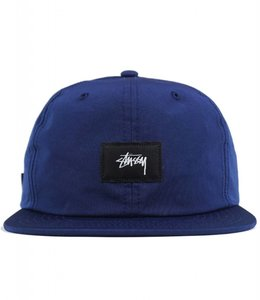 STUSSY STOCK LABEL STRAPBACK HAT