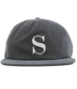 STUSSY S LOGO PIGMENT STRAPBACK HAT