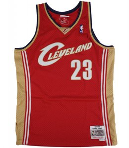 MITCHELL AND NESS LEBRON JAMES SWINGMAN JERSEY