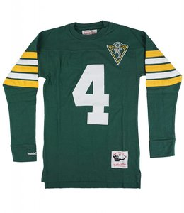 MITCHELL AND NESS PACKERS BRETT FAVRE NAME AND NUMBER LS