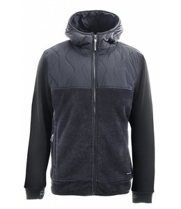 HOLDEN OUTERWEAR SHERPA HYBRID ZIP UP