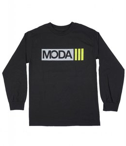 MODA3 BOX DASHES LOGO LONG SLEEVE TEE