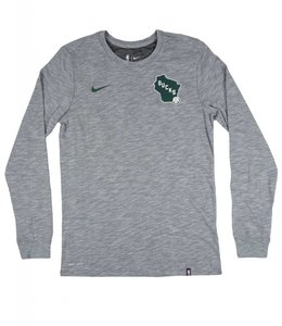 NIKE BUCKS FACILITY STATE LONG SLEEVE TEE