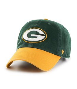 '47 BRAND GREEN BAY PACKERS 2-TONE CLEAN UP STRAPBACK