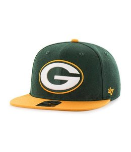 '47 BRAND GREEN BAY PACKERS SUPER SHOT TWO TONE STRAPBACK