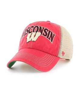 '47 BRAND WISCONSIN BADGERS TUSCALOOSA CLEAN UP SNAPBACK