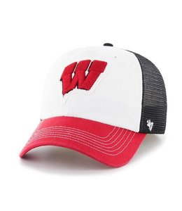 '47 BRAND WISCONSIN BADGERS PRIVATEER CLOSER FLEXFIT