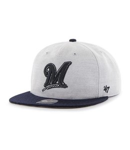 '47 BRAND MILWAUKEE BREWERS LAKEVIEW CAPTAIN SNAPBACK