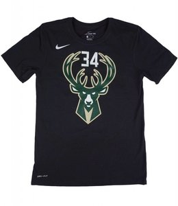 NIKE BUCKS GIANNIS NAME AND NUMBER STATEMENT JERSEY TEE