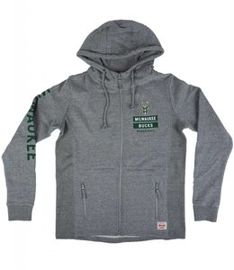 SPORTIQUE BUCKS DEMPSEY LANE FULL-ZIP HOODIE