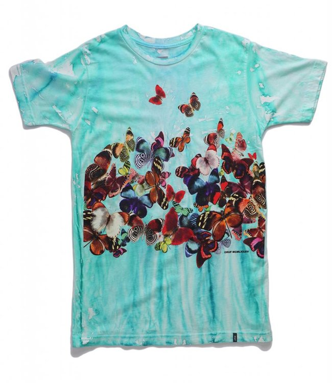 HUF BUTTERFLY EFFECT TEE