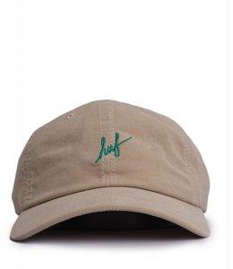 HUF CORDUROY SCRIPT HAT