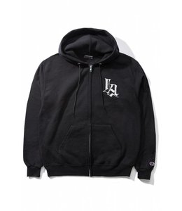 THE HUNDREDS CULTURE HOODED ZIP-UP