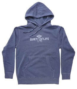 THE QUIET LIFE SHHH PIGMENT DYED HOODIE